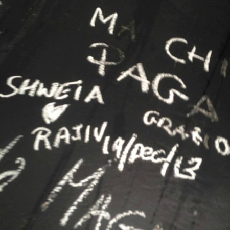 Our Names on Rolling Fork Wall
