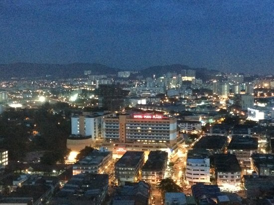 Furama Bukit Bintang: View from room at sunset