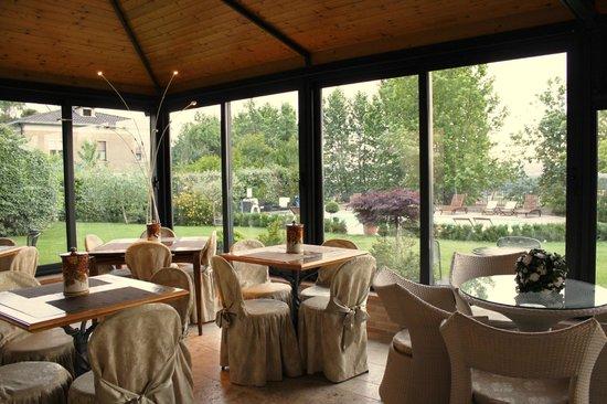 Hotel Al Grappolo d'Oro: Veranda colazione