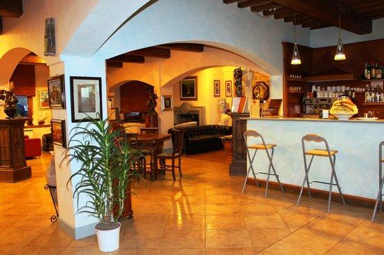 Hotel Al Grappolo d'Oro: Ingresso, ricezione, bar