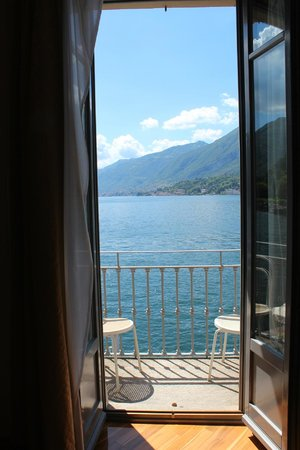 Hotel Metropole Bellagio: View from room 227