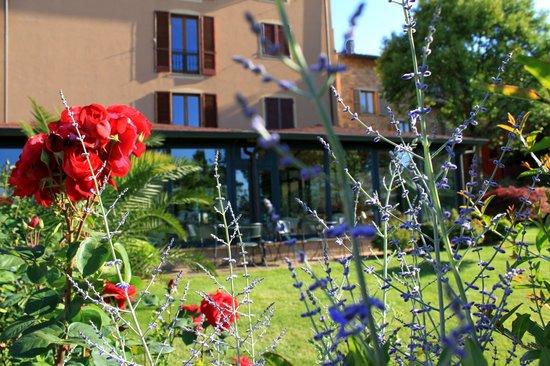Hotel Al Grappolo d'Oro : Hotel dal giardino