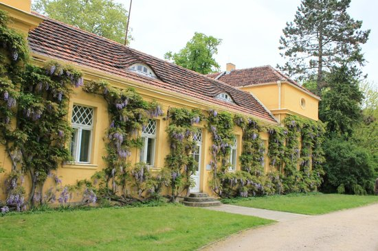 Parque Sanssouci: постройка на территории парка