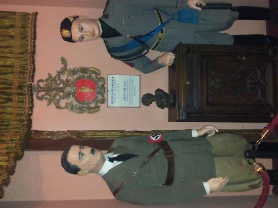 Museo Delle Cere: Hitler e Mussolini