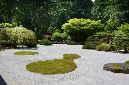 Portland Japanese Garden: Zen Garden