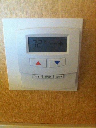 Hilton Houston North: Air control