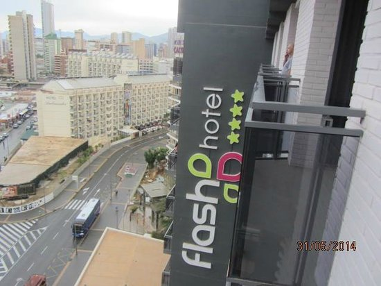 Flash Hotel Benidorm: view from room 1212