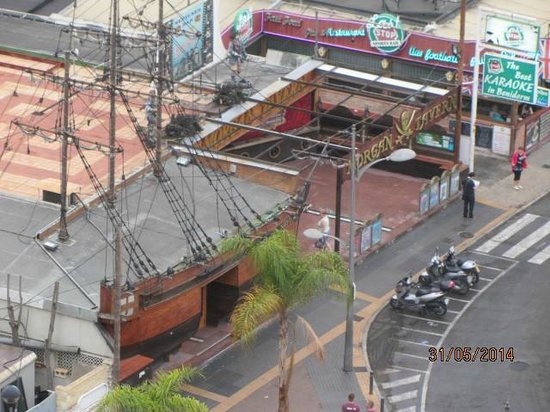 Flash Hotel Benidorm: view from room 1212 - Neptunes - from tv series