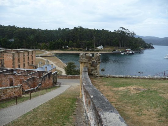Site historique de Port Arthur : Overlloking Mason Cove