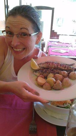 Captain's Table : sardines