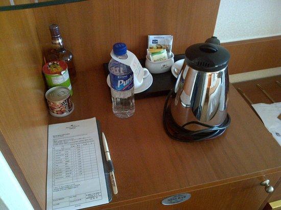 Hotel Paragon: il bollitore