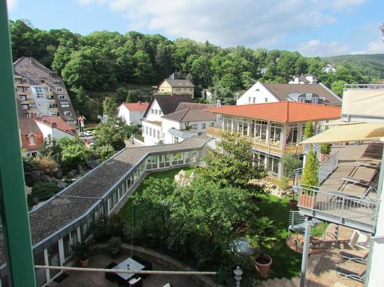 Gartenhotel Heusser : The view from our room