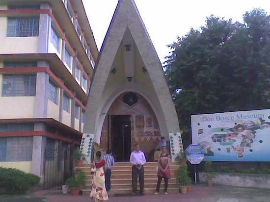 Don Bosco Centre for Indigenous Cultures : entrance