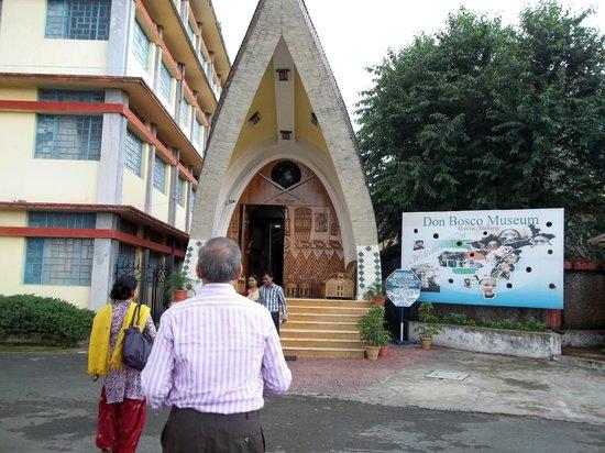Don Bosco Centre for Indigenous Cultures : entrance