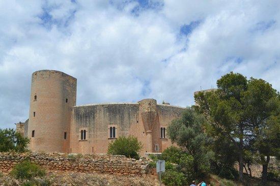 Castell de Bellver: Вид на замок
