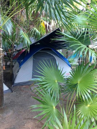 Cenote Encantado: Very clean and well equipped tent