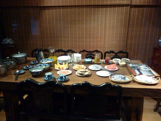 Zen Garden Hotel (Wuyi Yard): Het kerstontbijt