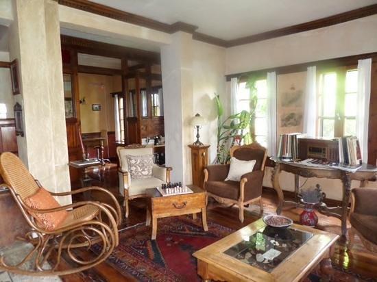 Nisanyan Evleri Hotel: lounge area