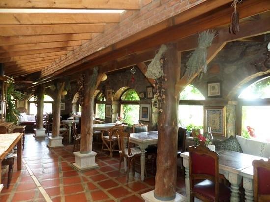 Nisanyan Evleri Hotel: dining room