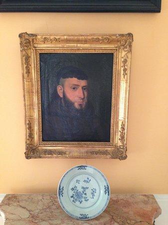 Villa San Gennariello b&b: Портрет одного из предков на Villa San Gennariello