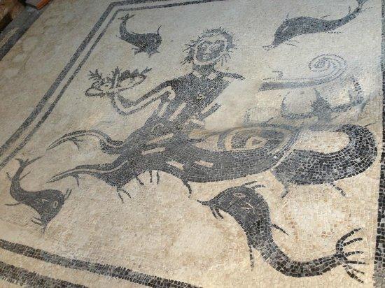 Ruins of Herculaneum: Мозаика в Геркулануме
