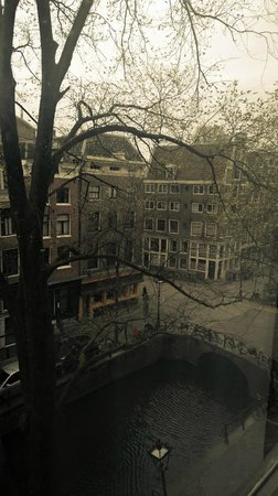 Sofitel Legend The Grand Amsterdam: It was a rainy day, yet the room view was still very nice