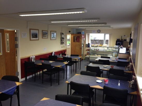 Caffi Cookes Cafe: Plenty of seating with lots of wheel chair access