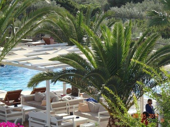 Alexandros Hotel : vue de la chambre