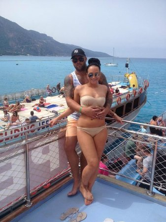 Orka Sunlife Hotel: boat trip (booked with pegus in olu deniz, DONT RECCOMEND THIS COMPANY)