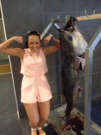 Orka Sunlife Hotel: fish night @ restaurrant