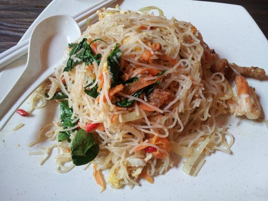 Kopi Ping Cafe: fish sauce fried mee hoon