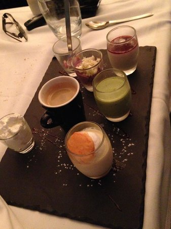 Pascal's Kitchen : Cafe gourmand