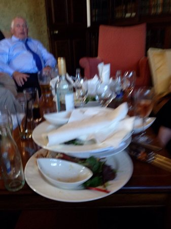 Gisborough Hall Hotel: Our stay all the plates and glasses building up all day and very poor service for our private di