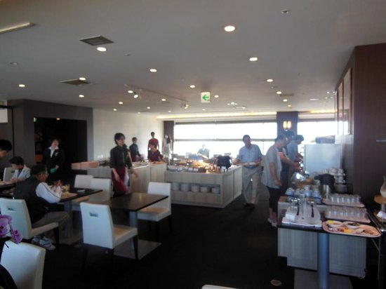 Mitsui Garden Hotel Hiroshima: 眺めが素晴らしい25階レストラン