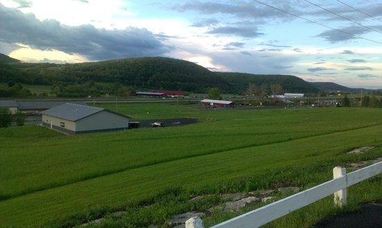 Countryside Inn: Вид от отеляRed