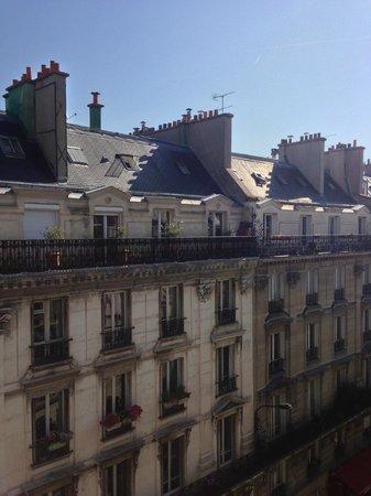 Hotel Berne Opera: View from balcony