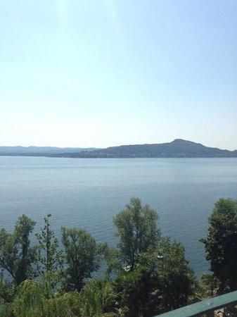 The Villa San Antonio : View of the never-ending lake