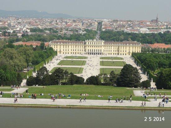 Gärten von Schönbrunn: View from the Gloriette
