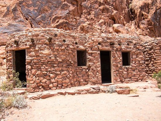 Valley of Fire State Park: The Cabins