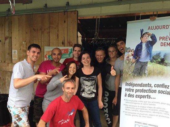 Tarascon-sur-Ariege, Frankreich: Canyoning