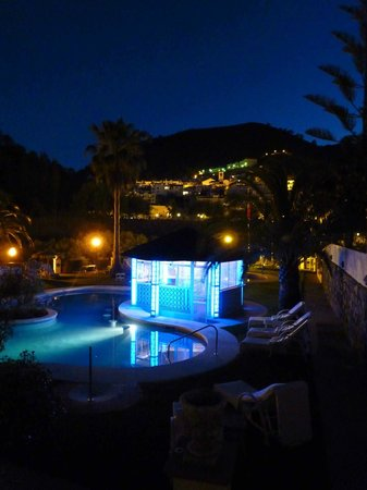 Gran Hotel Benahavis : One of the pools has a bar, with seats in the water.
