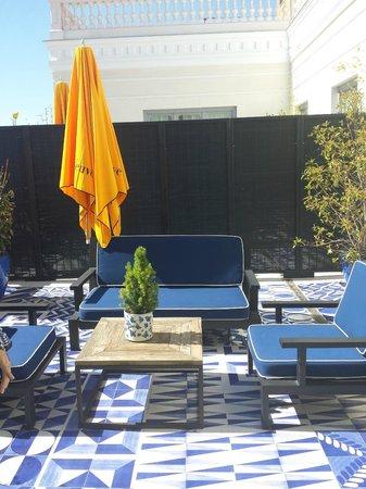 Only YOU Boutique Hotel Madrid: Terraza habitación