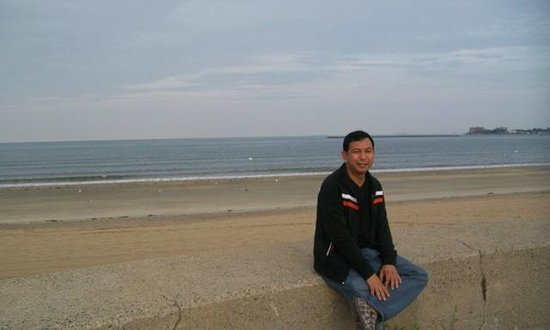 Revere Beach: some downtime at the beach