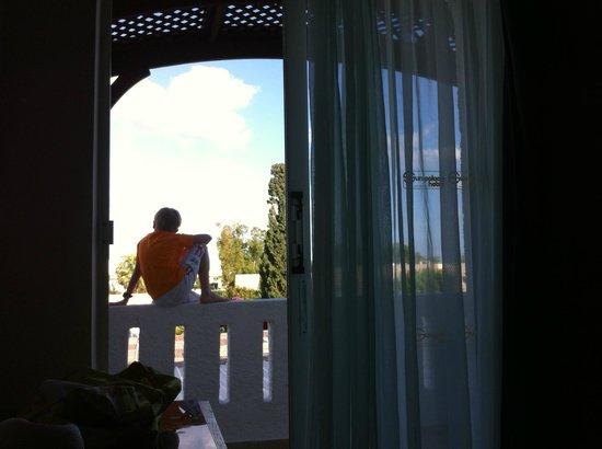 Sun Palace Hotel : Вид из номера