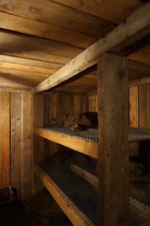 Memorial Museum Passchendaele 1917: Sleeping quarters