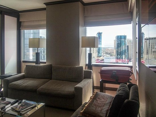 Vdara Hotel & Spa: Living Room
