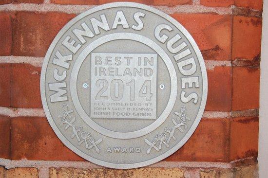 Ariel House : McKennas Guides Award 2014