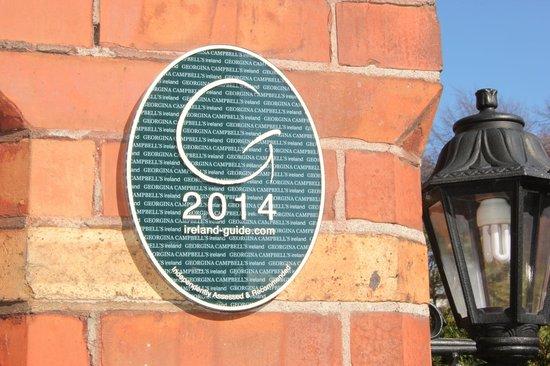 Ariel House : Georgina Campbell Ireland Award 2014