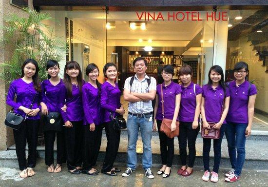 Vina Hotel Hue: Lady Rider at Vina Hotel