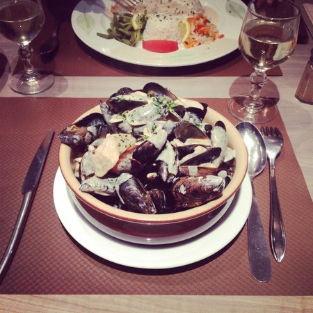 L'Embarcadere : Moules normandes